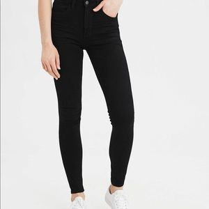 American Eagle black jegging Jeans